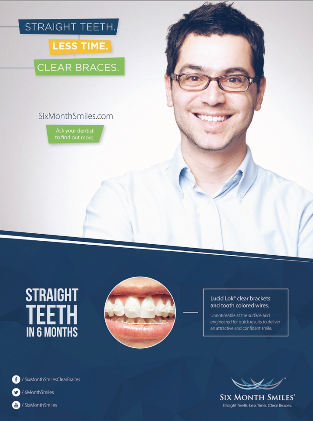 quick custom Six Month Smiles posters