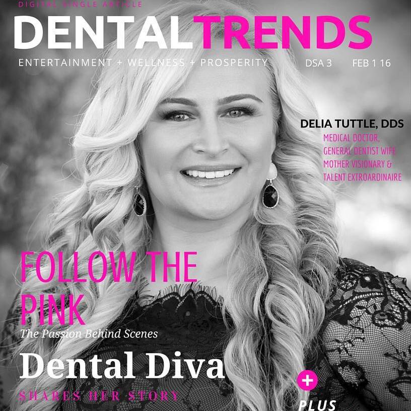 Follow the Pink Delia Tuttle Six Month Smiles Dental Trends