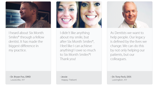 testimonials refer a friend Six Month Smiles